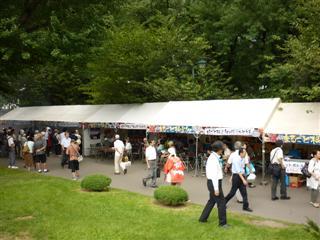 「炭火焼きさんまと特産品直売イベント」の様子(2)